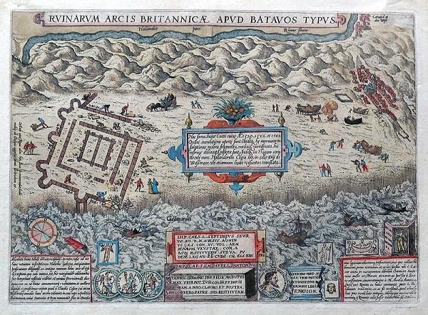 Brittenburg-Ortelius-1581