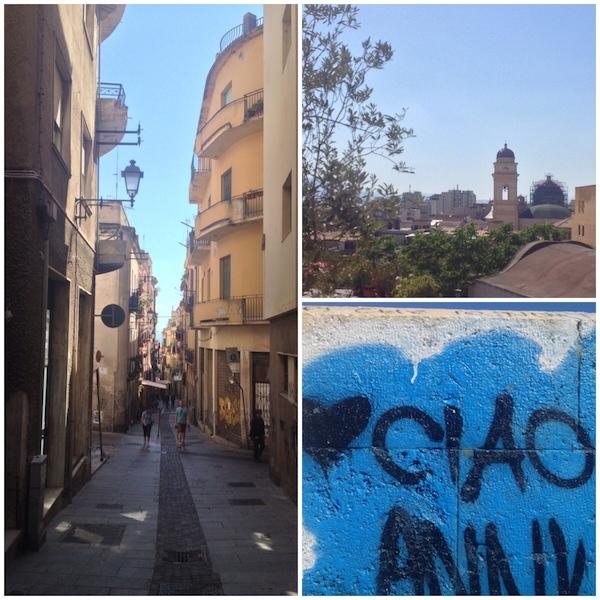 Cagliari-collage