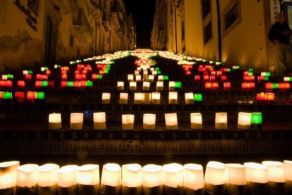 Caltagirone-Sicilië-trap-lichtjes-Illuminata