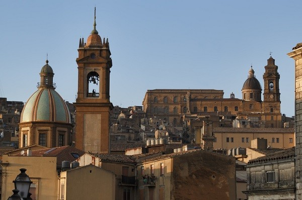 Caltagirone-Sicilie