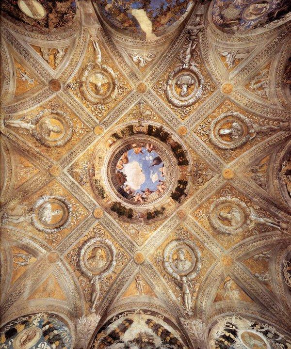 Camera degli Sposi - plafond