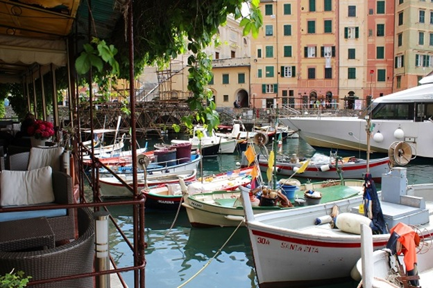Camogli-Ligurië-Riviera