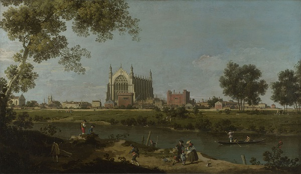 Canaletto-Eton-College-The-National-Gallery-Londen