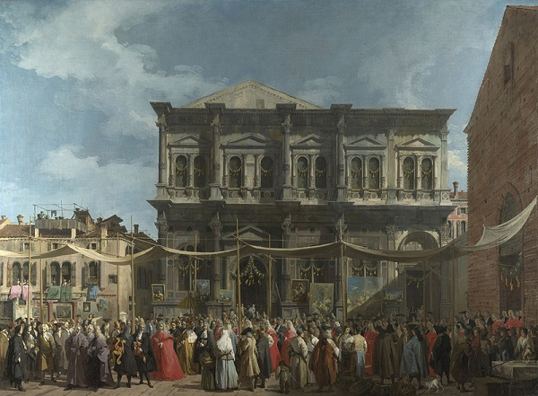 Canaletto-Feestdag-Sint-Rochus-The-National-Gallery-Londen