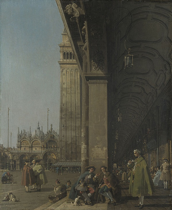 Canaletto-Piazza-San- Marco-The-National-Gallery-Londen