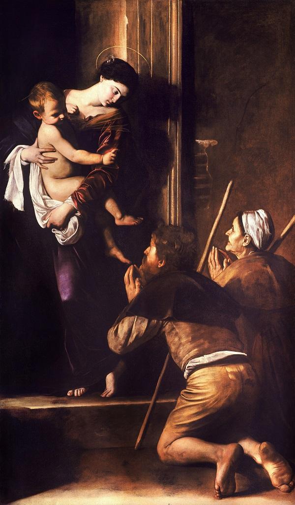 Caravaggio-Madonna-Loreto