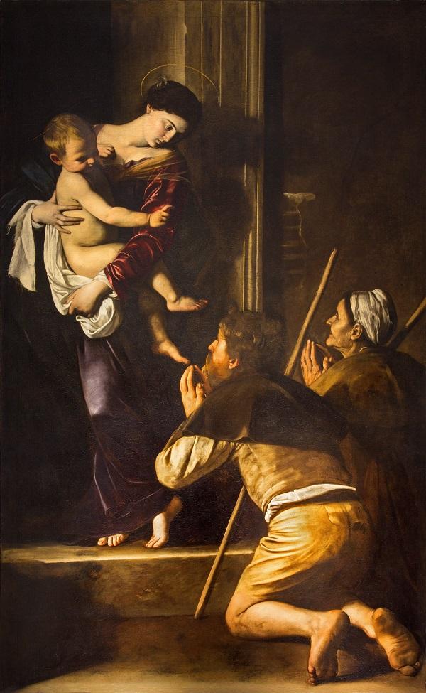 Caravaggio-Madonna-van-de-pelgrims