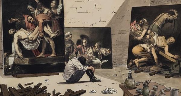 Caravaggio-Milo-Manara-strip (1)
