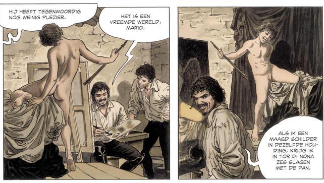 Caravaggio-Milo-Manara-strip (3)