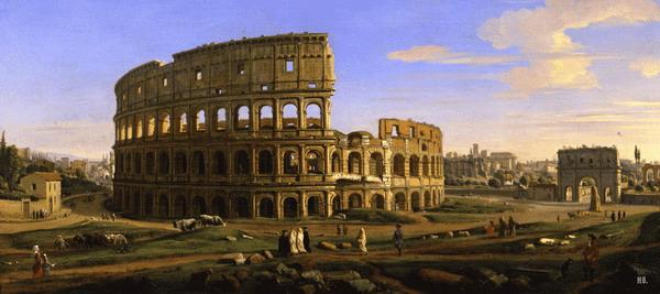 Caspar-van-Wittel-Colosseum