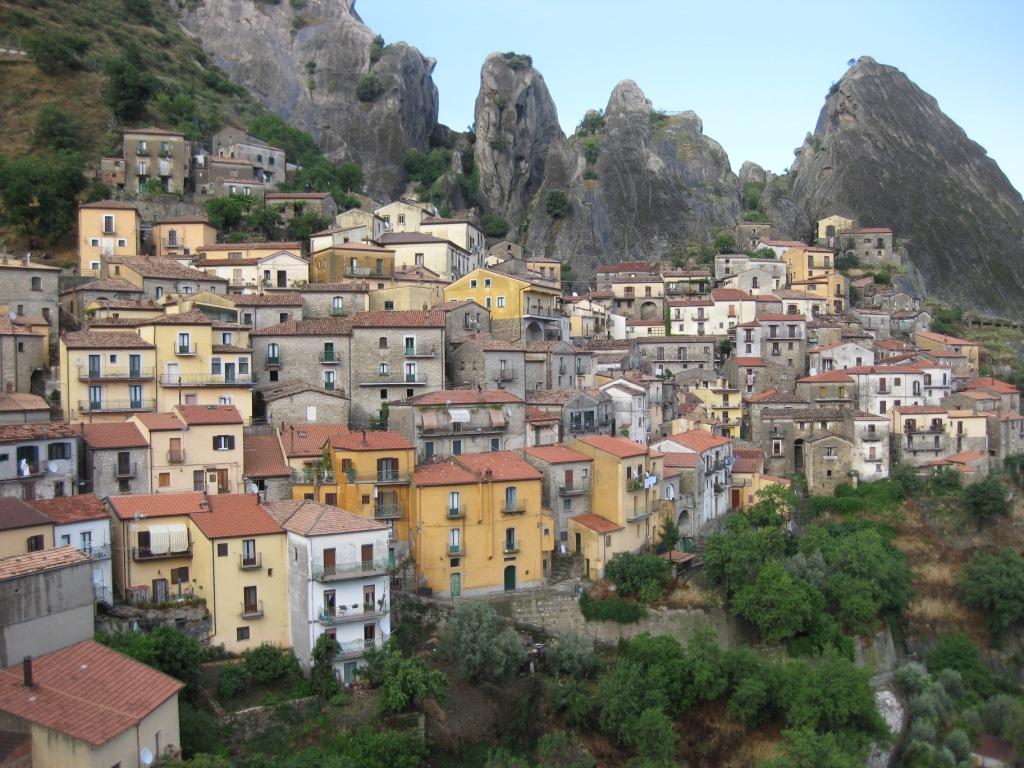 Castelmezzano (1000 m) - Basilicata