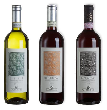 Cossetti-wijn-assortiment
