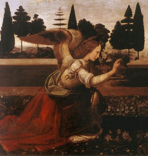 Da-Vinci-Uffizi-Florence-engel