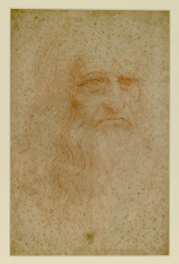 Da-Vinci-zelfportret-Turijn