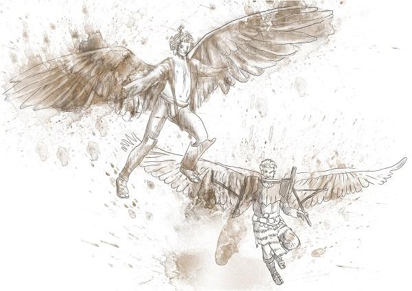 Daedalus-Icarus-labyrint