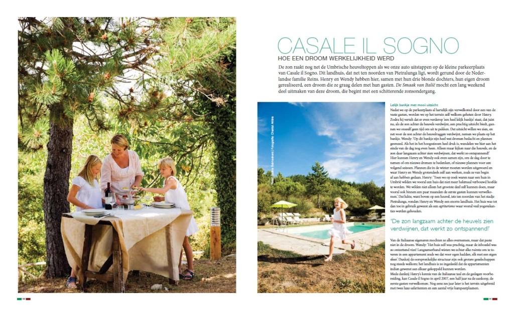 De Smaak van Italie 6-2012 Casale Il Sogno