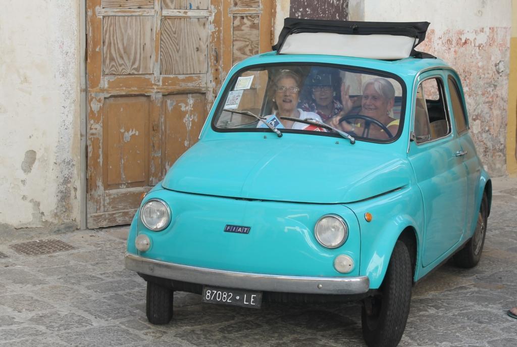 De dames gaan op stap, Gallipoli - Puglia