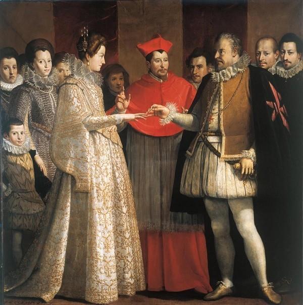 Dolci-huwelijk-Medici