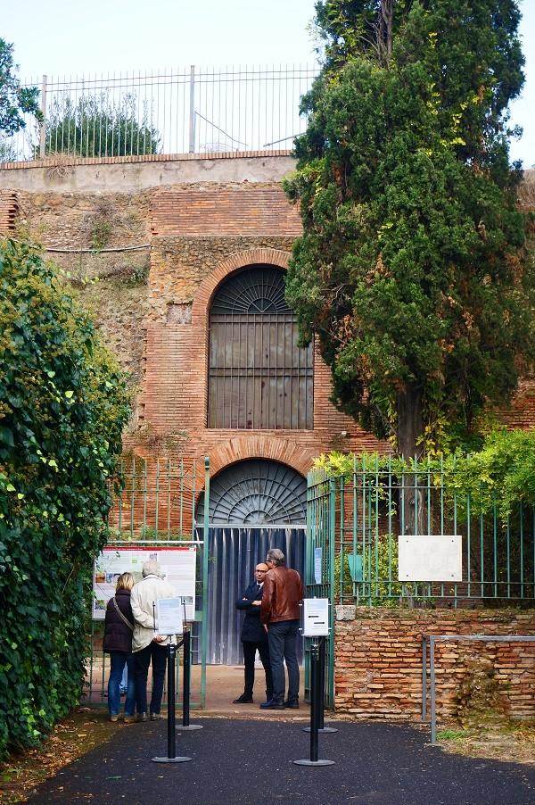 Domus-Aurea-Rome-ingang