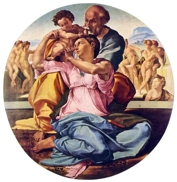Doni-Tondo-Michelangelo