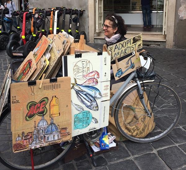Drawing-Bike-Rome (5)