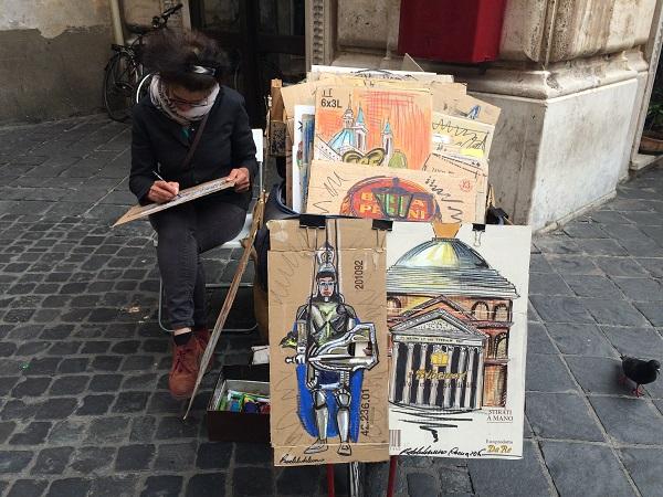 Drawing-Bike-Rome (7)