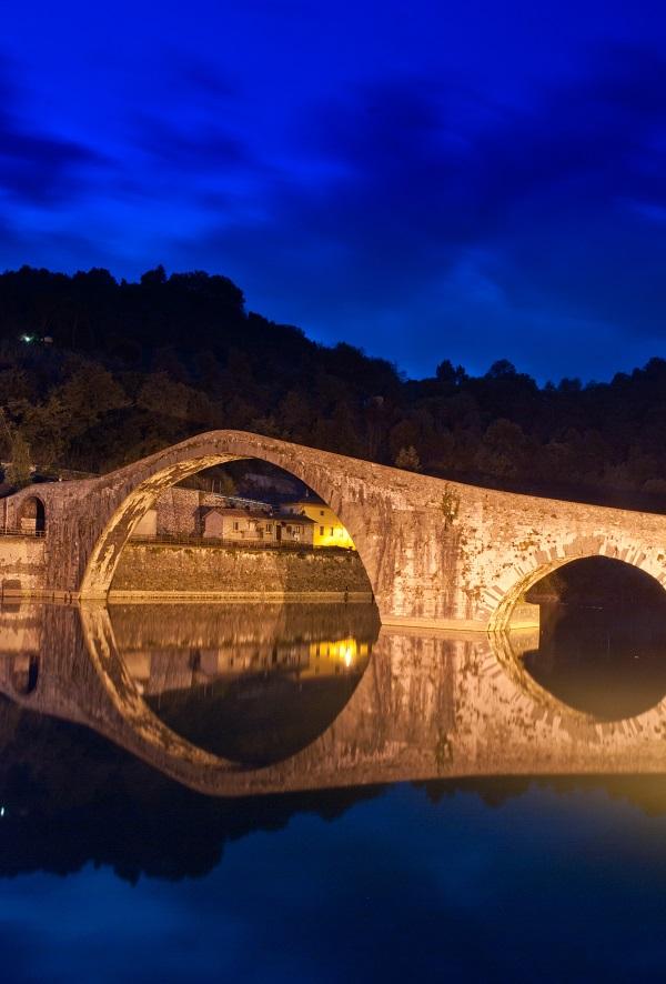 Duivelsbrug-Barga-Toscane