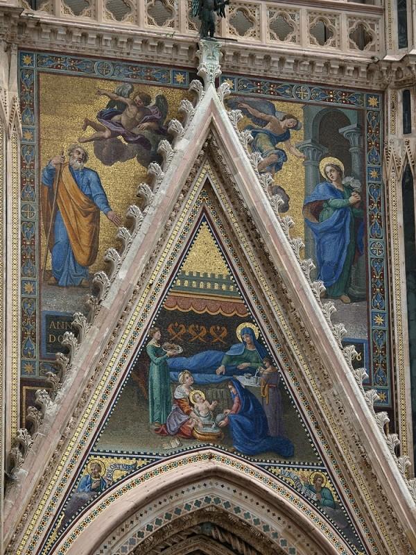 Duomo-Orvieto-mozaïek-geboorte-Maria