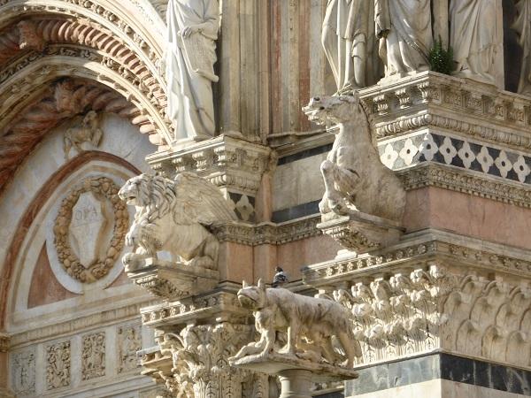 Duomo-Siena-dieren