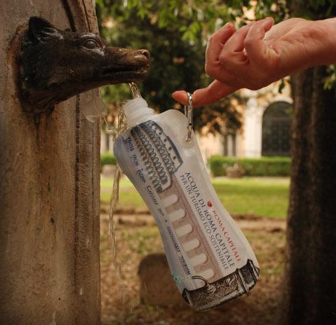 Eco-water-Roma-bottiglia