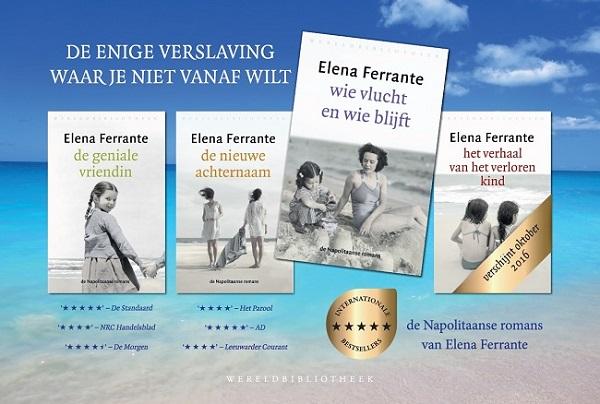 Elena-Ferrante-boeken