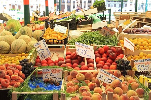 Erbaria-markt-Venetie