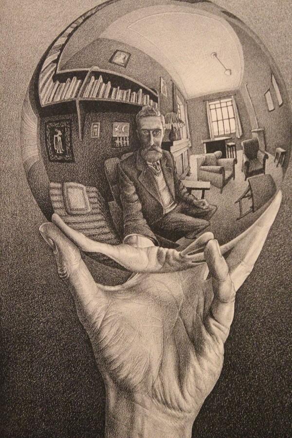 Escher-4-De-hand-met-de-glazen-bol
