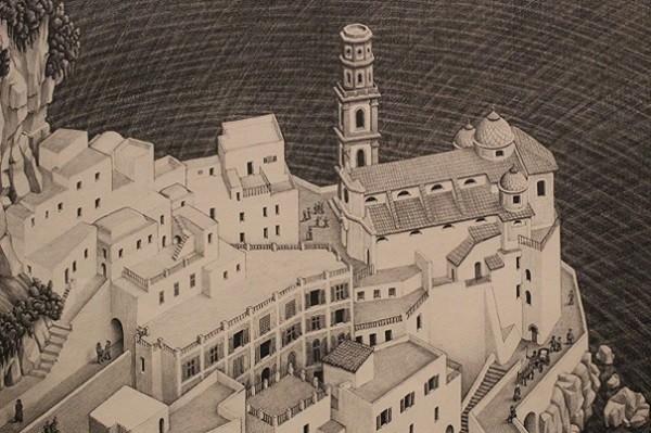 Escher-Duomo-Atrani-Amalfikust