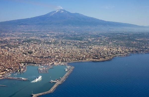 Etna-Catania-Sicilië