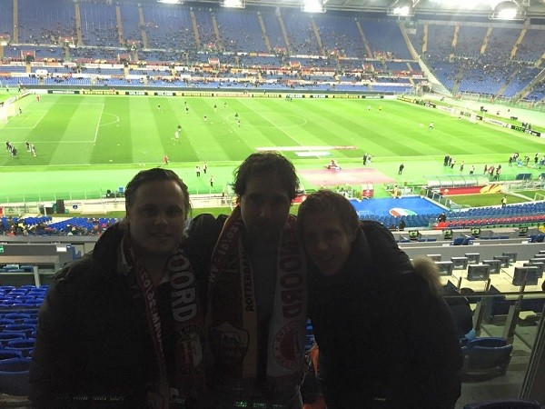 Feyenoord-ASRoma-Rome