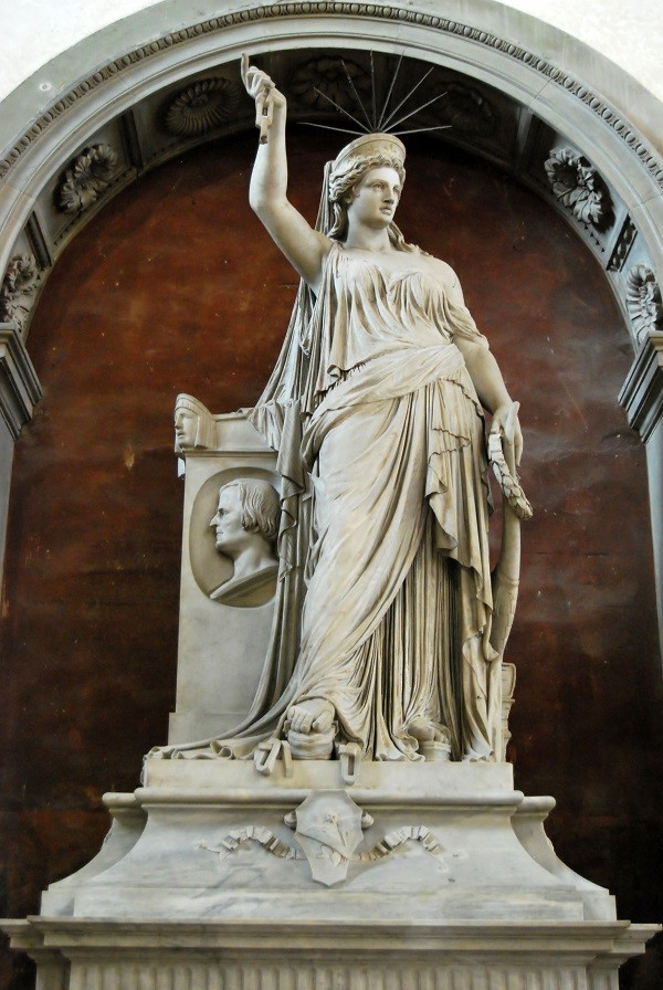Vrijheidsbeeld - Santa Croce - Florence