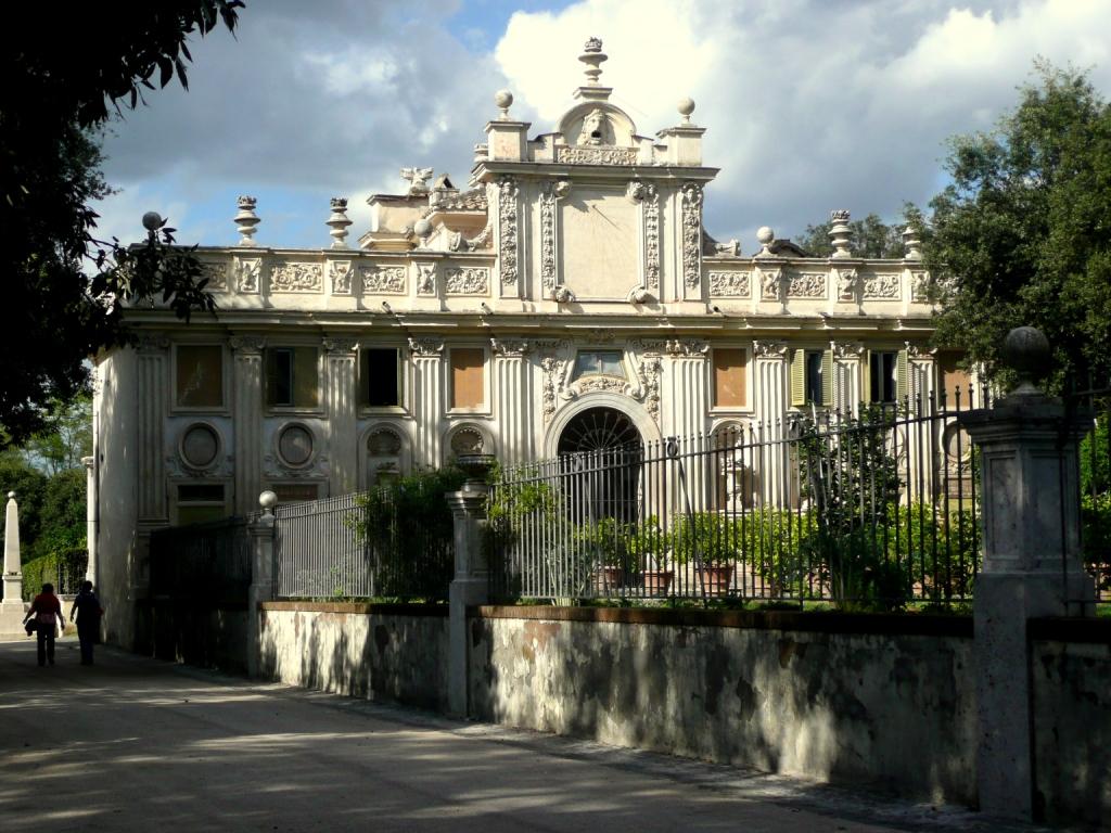 Foto 1 Villa Borghese exotische tuin