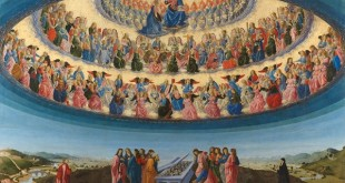Francesco Botticini, The Assumption of the Virgin, probably about 1475-6, tempera on wood, 228.6 x 377.2 cm © The National Gallery, London