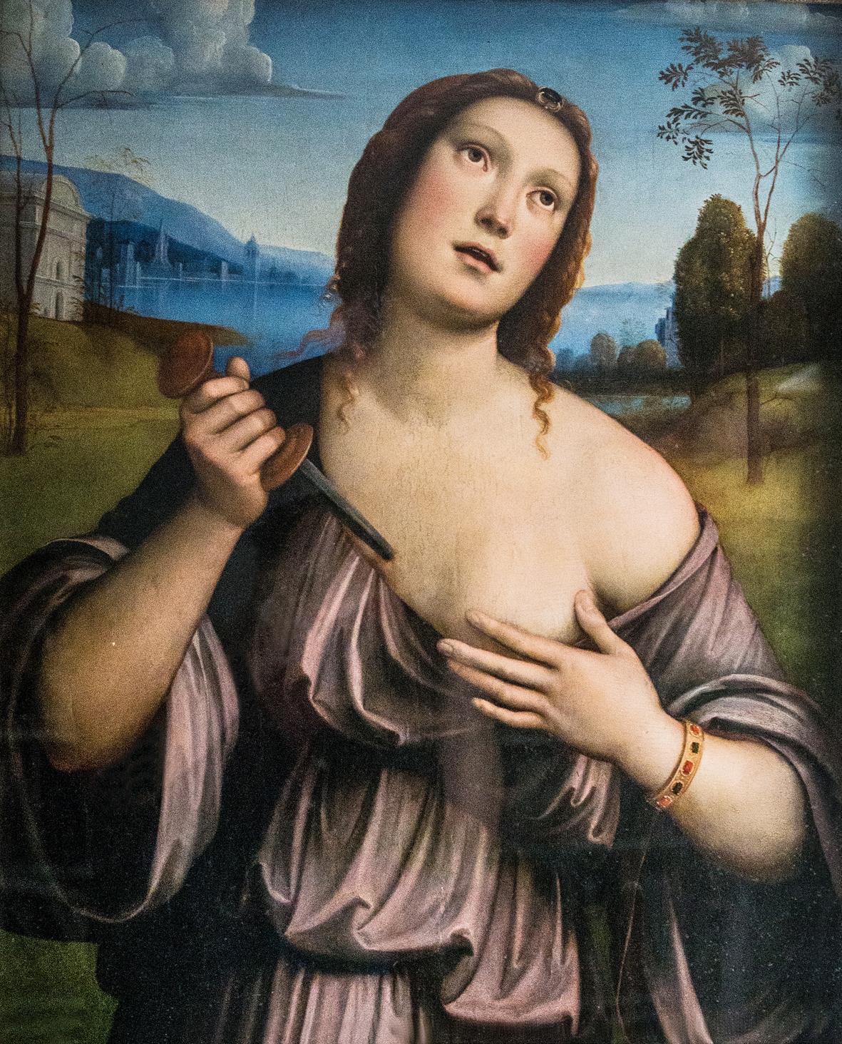 Francesco Francia, Lucrezia Romana
