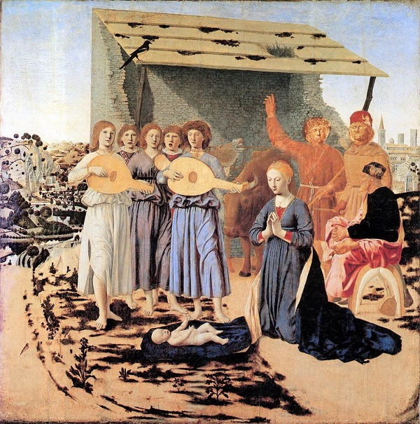 Geboorte-Piero-della-Francesca-National-Gallery-Londen