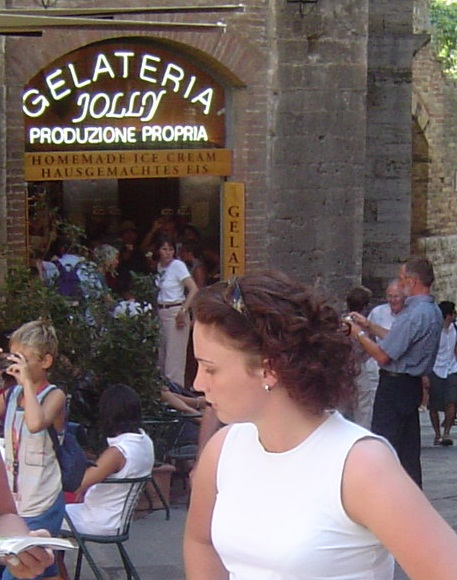Gelateria Jolly -  San Gimignano