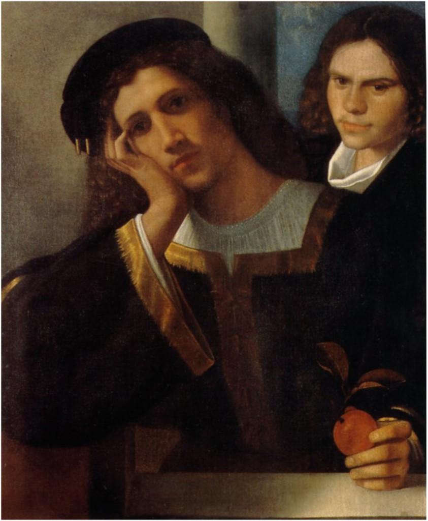 Giorgione, Dubbel portret, Museo Nazionale del Palazzo di Venezia, Rome
