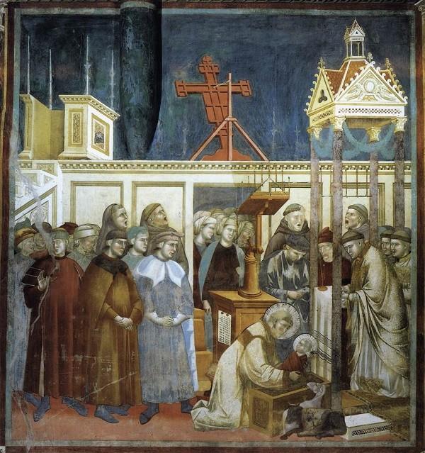 Giotto-eerste-kerststal-fresco-San-Francesco-Assisi