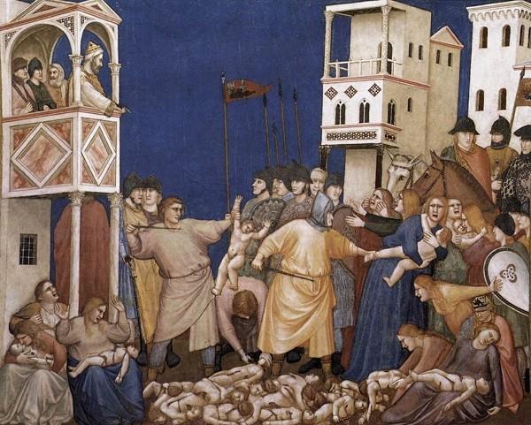 Giotto-moord-onschuldige-kinderen-fresco-San-Francesco-Assisi