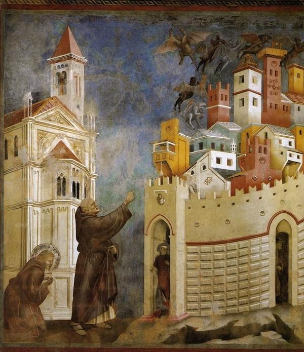 Giotto-verdrijving-duivels-fresco-San-Francesco-Assisi (2)