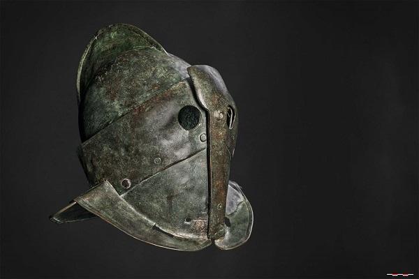 Gladiatoren-Helm-secutor-Pompei-Valkhof-Nijmegen