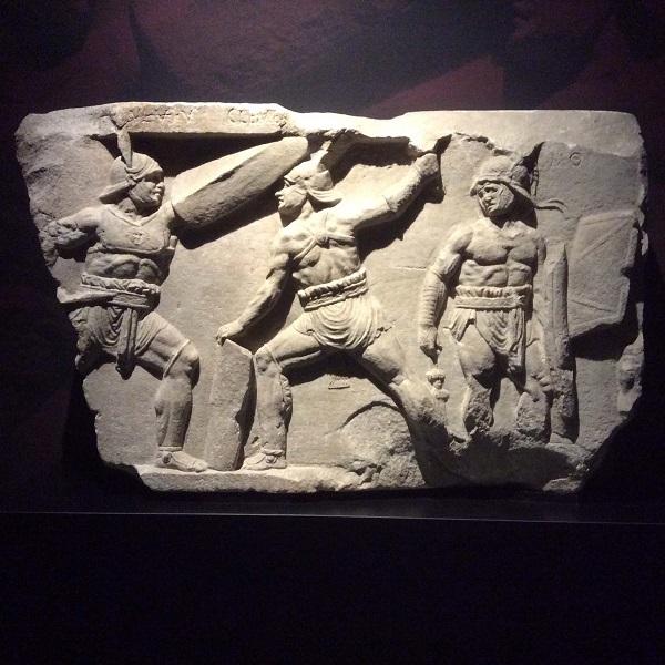 Gladiatoren-provocatores-gevecht-Valkhof-Nijmegen