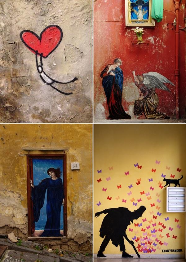 Graffiti-kunst-Italië