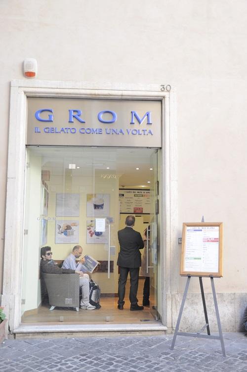 Grom-ijs-Rome